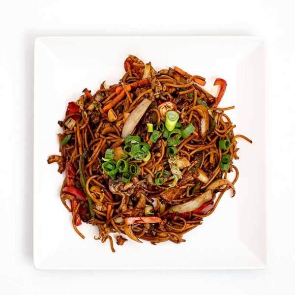 Tenger gyümölcsei wok