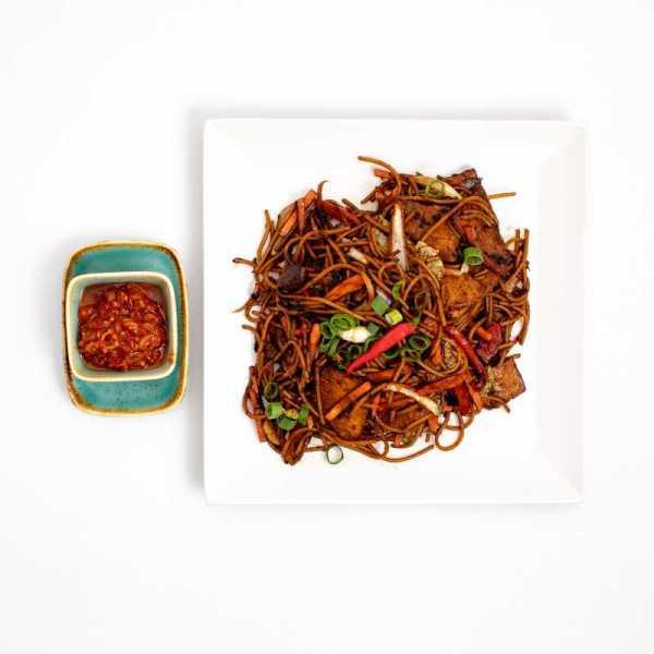 Egzotikus citromfüves csípős sertés wok
