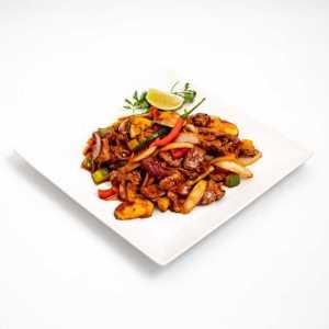 Citromfüves chilis marhahús