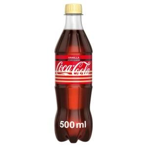 Coca-Cola Zero vanília, 0,5 l