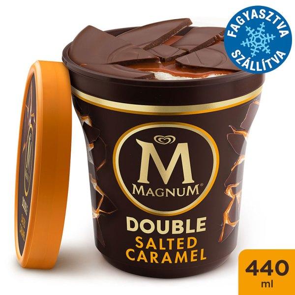 Magnum Poharas Dupla Sós Karamell jégkrém 440ml