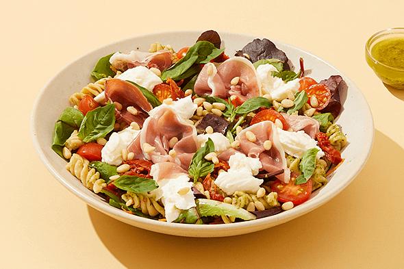 Parma Ham & Mozzarella Salad