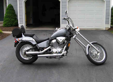 Honda Shadow Vlx 600 Chopper Kit | hobbiesxstyle