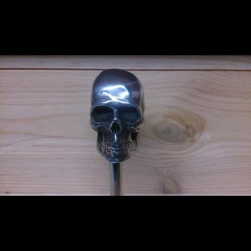 Harley Shift Knob Skull Aluminum Handmade Hot Rod Harley Custom Bikeclassic