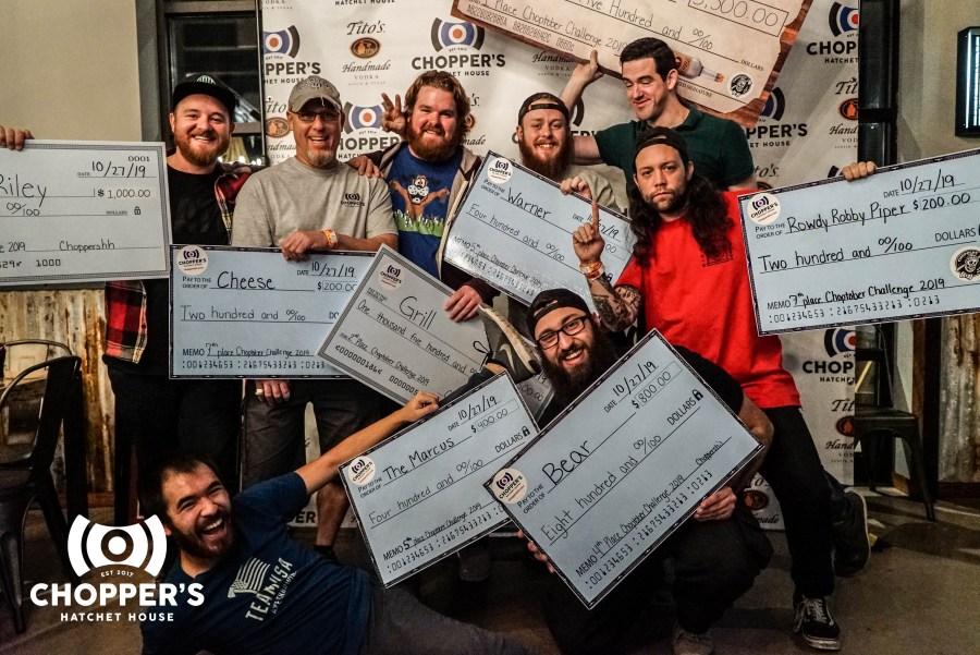 2019 Choptober winners