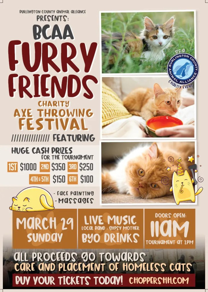 BCAA Furry Friends Charity Event