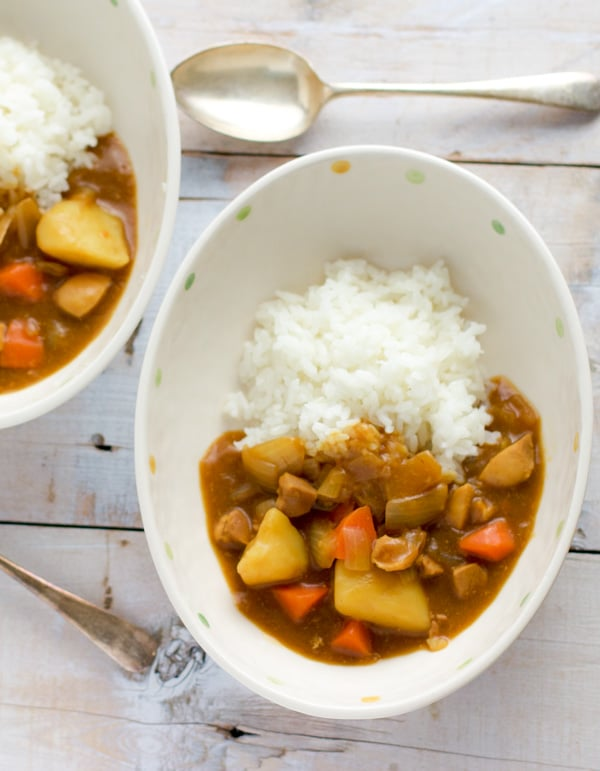 Japanese Curry Rice 3