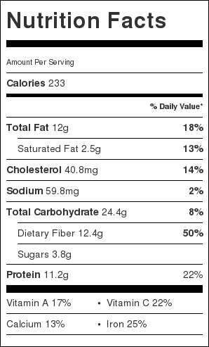 Japanese Curry Rice Nutrition Facts