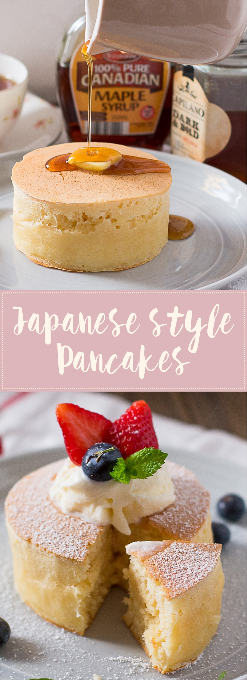 Extra Thick And Fluffy Japanese Style Pancakes Chopstick
