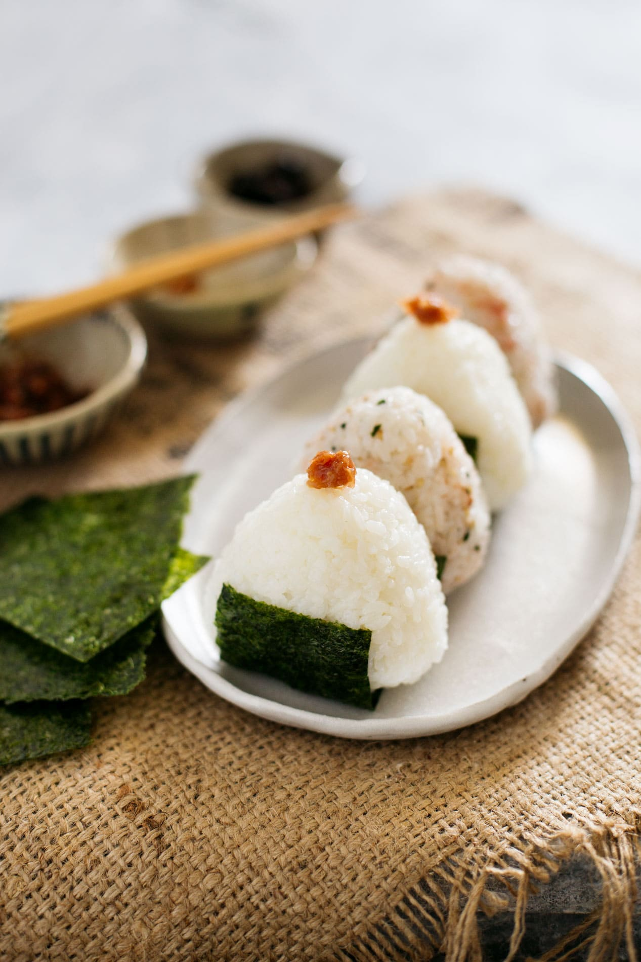 Japanese Rice Balls (Onigiri) | Chopstick Chronicles