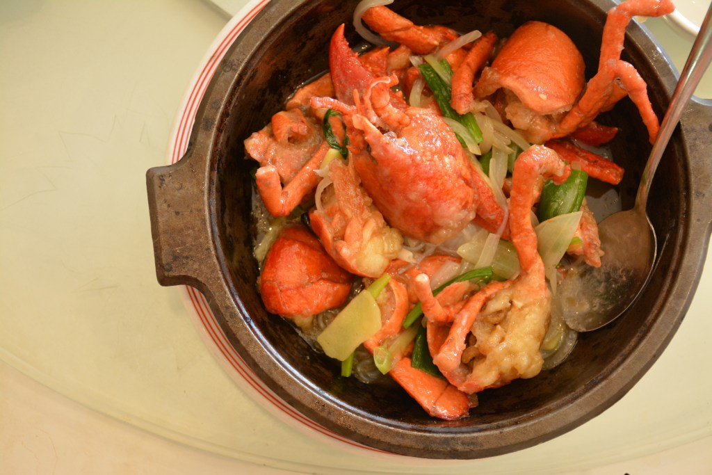 Ken's Kitchen: Iron bowl of lobster