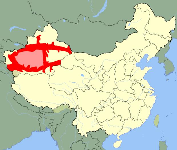 uyghur region china
