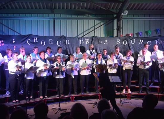 """Concert de fin d'année de la chorale """"Le Choeur de la Source"""""""