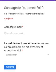 2019 sondage automne