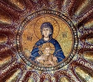 chora church -  mother of god
