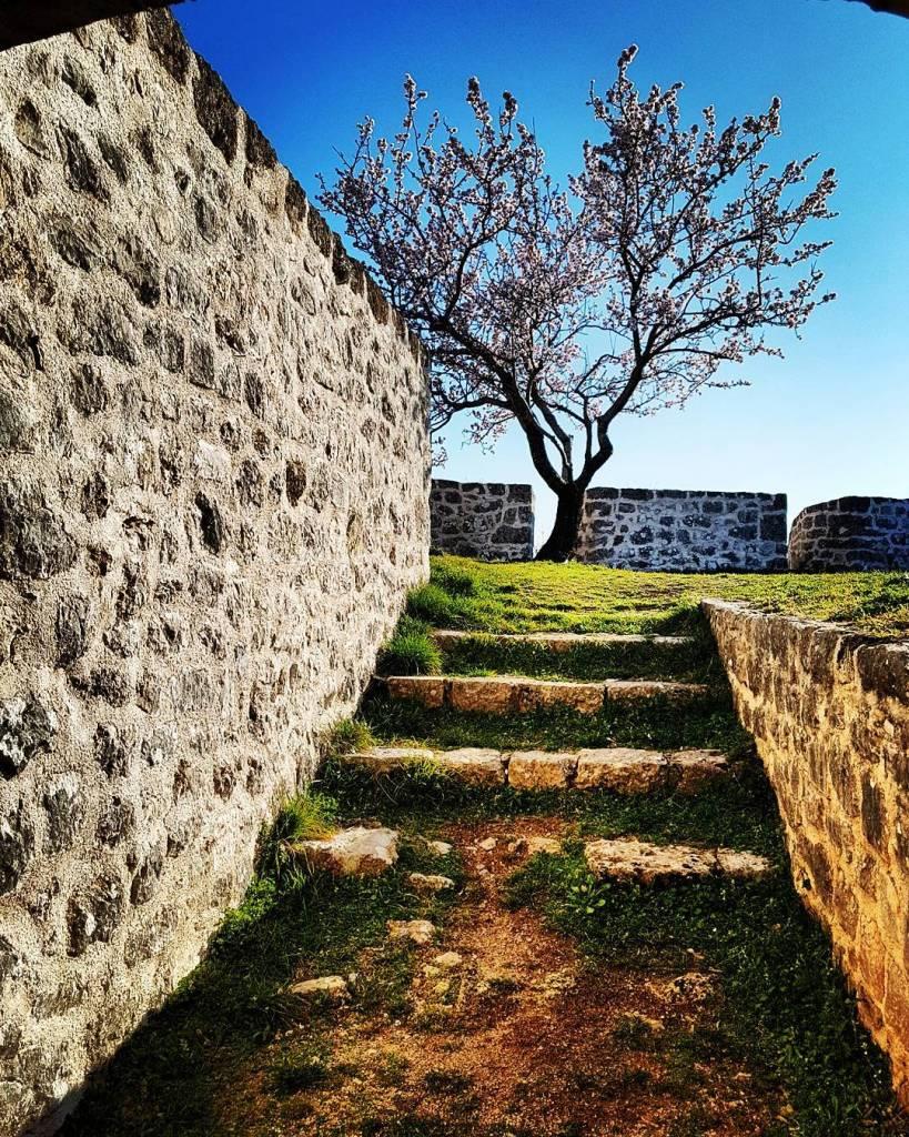 schody w twierdzy Knin