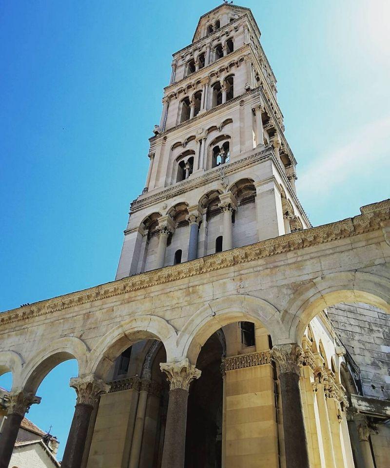 katedra św. Dujama w pałacu Dioklecjana