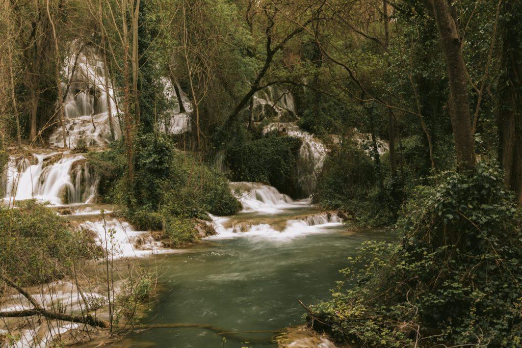 malownicza rzeka Krka