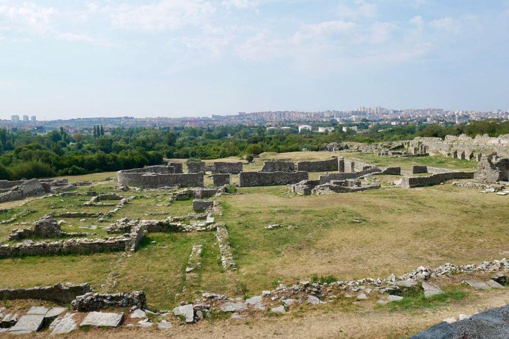 Starożytna Salona niedaleko Splitu