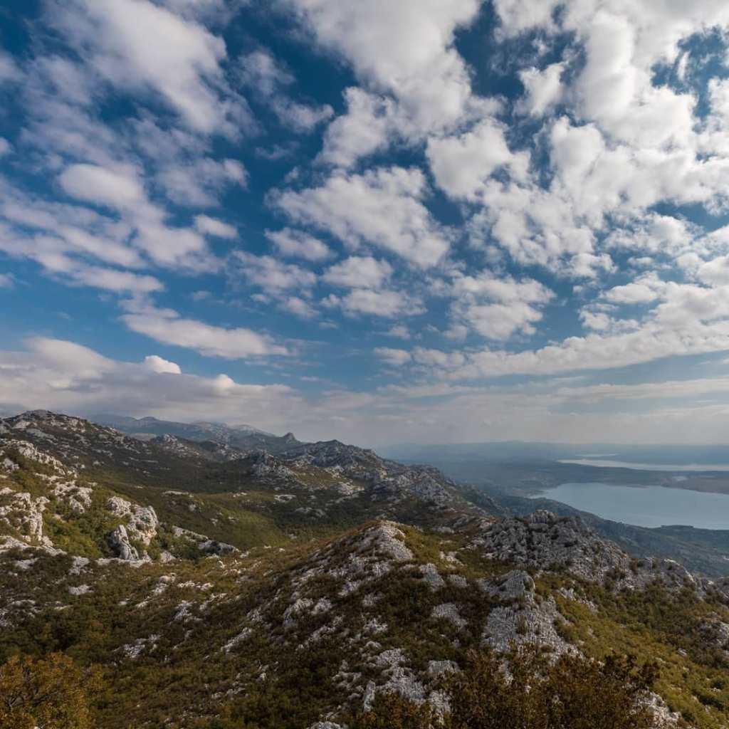 panorama Paklenicy