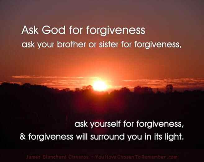 inspirational quote about forgiveness