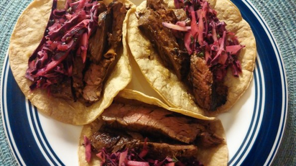 Steak Tacos Marinade