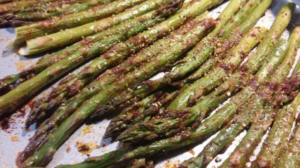 Smokey Oven Roasted Asparagus