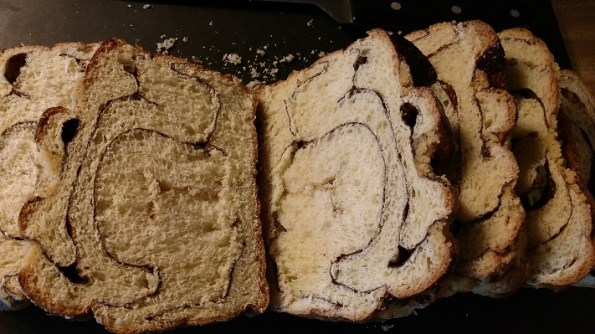 Cinnamon Swirl Bread French Toast with Spiced Apple Compote