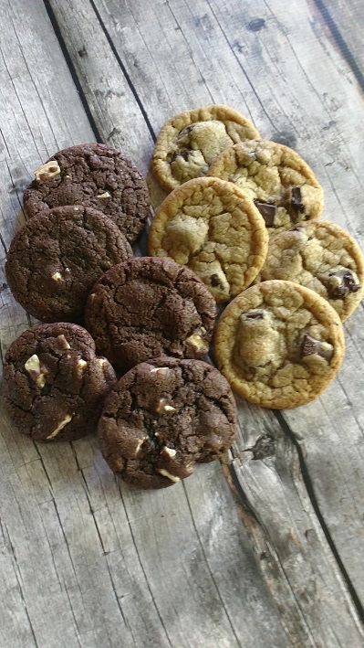 Browned Butter Chocolate White Chocolate Chunk Cookie