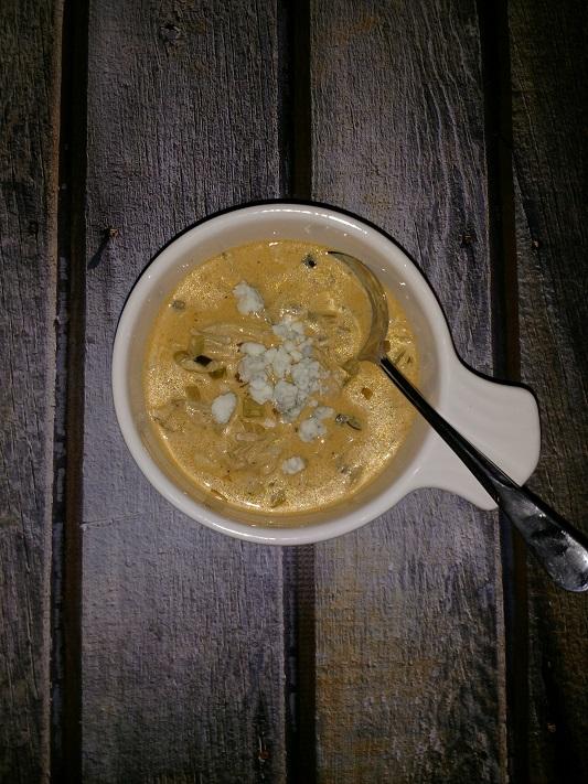 Creamy Buffalo Chicken Soup