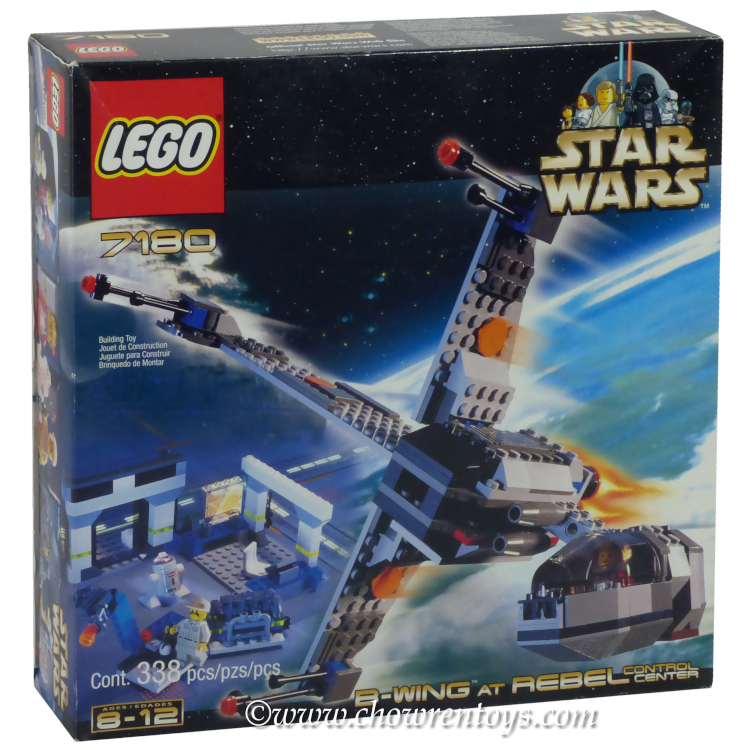 LEGO Star Wars Sets  Classic 7180 B wing at Rebel Control Center NEW
