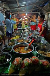 Street Food Night Market Luang Prabang