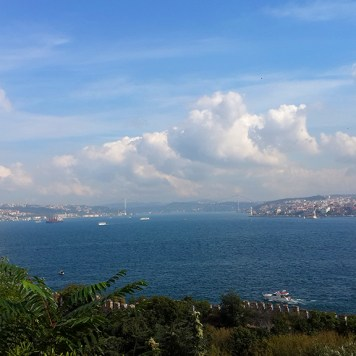 View from the Topkapı gardens