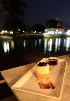 Sala Ayutthaya Blueberry Cheesecake