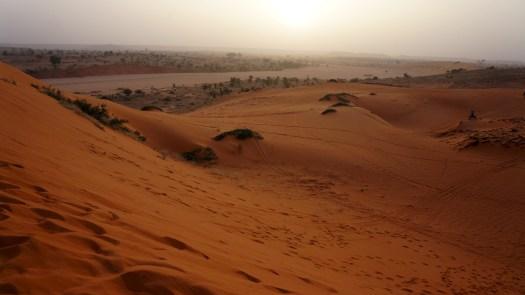 Niamey Niger Sand Dunes