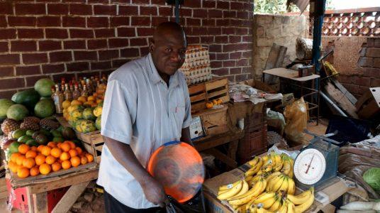 Niamey Niger Fruit Stand