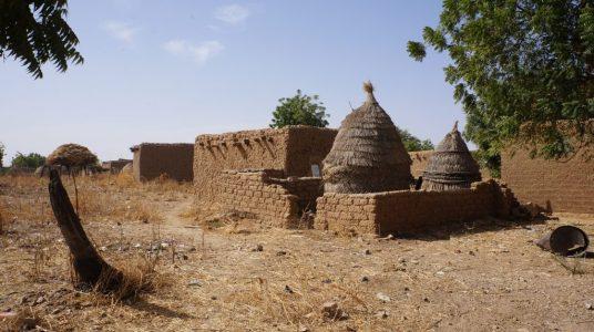 Kanazi Village Huts Niger