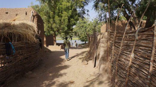 Kanazi Island Village Niger