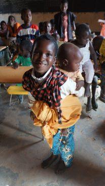 Kanazi Island Niger Girl