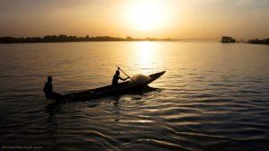 Fisherman Niger River Niamey