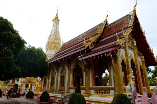 Temple next to Wat Phra That Phanom