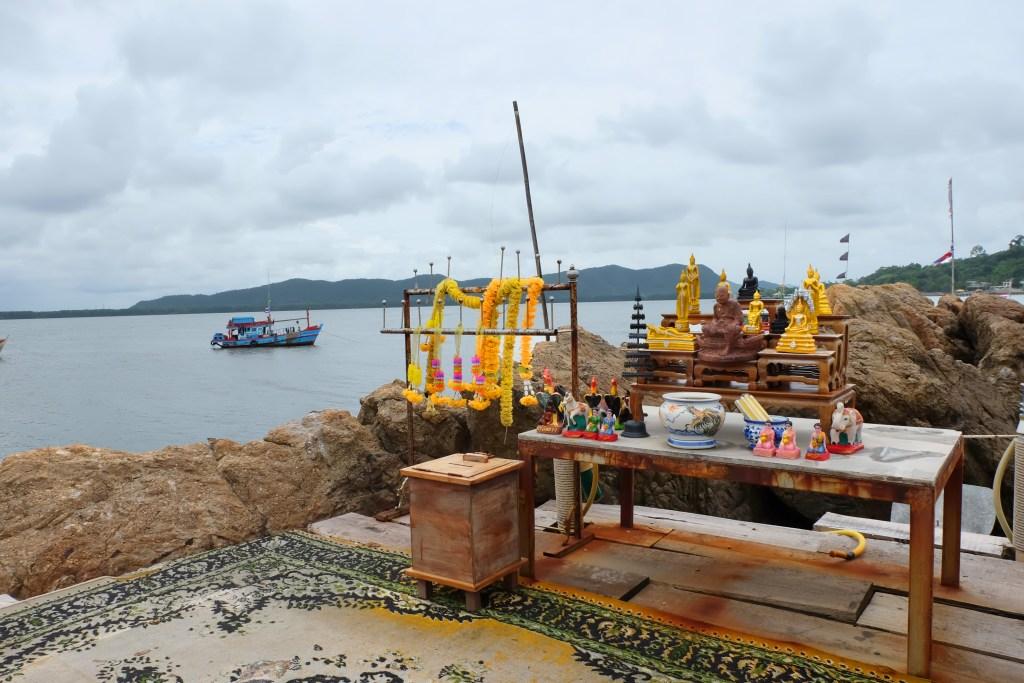 Chedi Ban Hua Laem Chanthaburi Thailand
