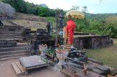 Vat Phou Shiva Statue