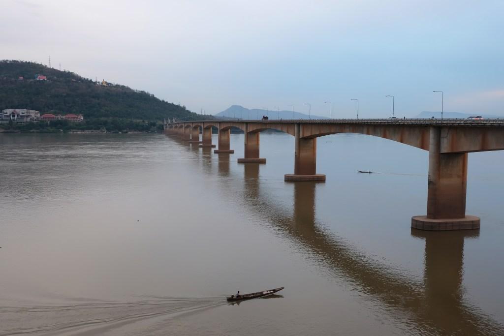 Pakse Bridge Laos