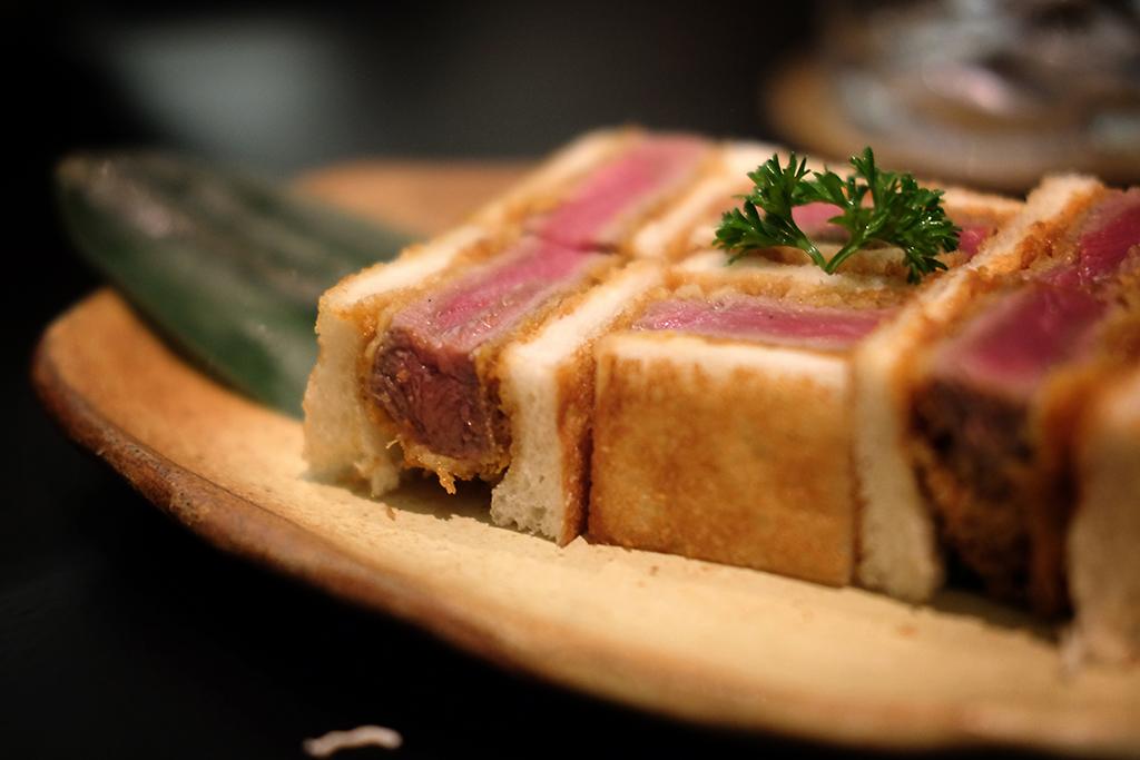 Wagyu Sandwich at Bambino Bangkok