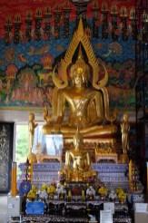 Golden Buddha on 2nd floor