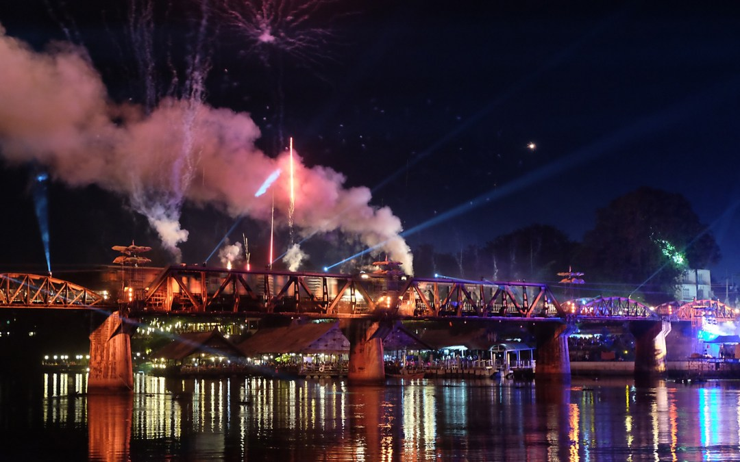 Kanchanaburi – River Kwai Bridge Lights and Sounds Festival