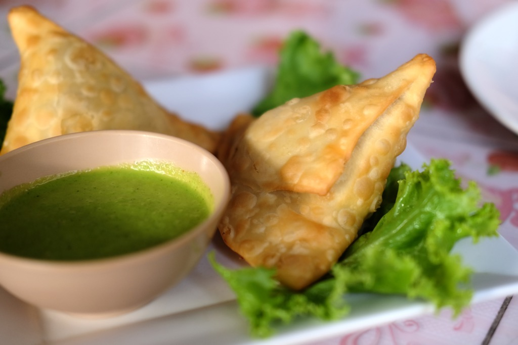 Chicken Samosa Bombay Indian Koh Lipe