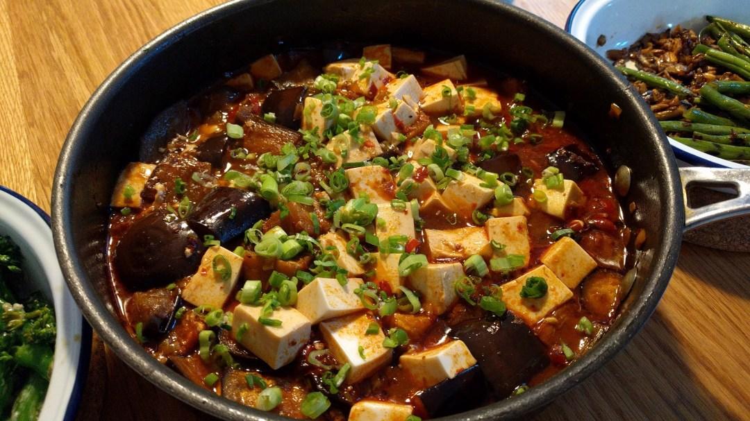 Meatless Mapo Tofu