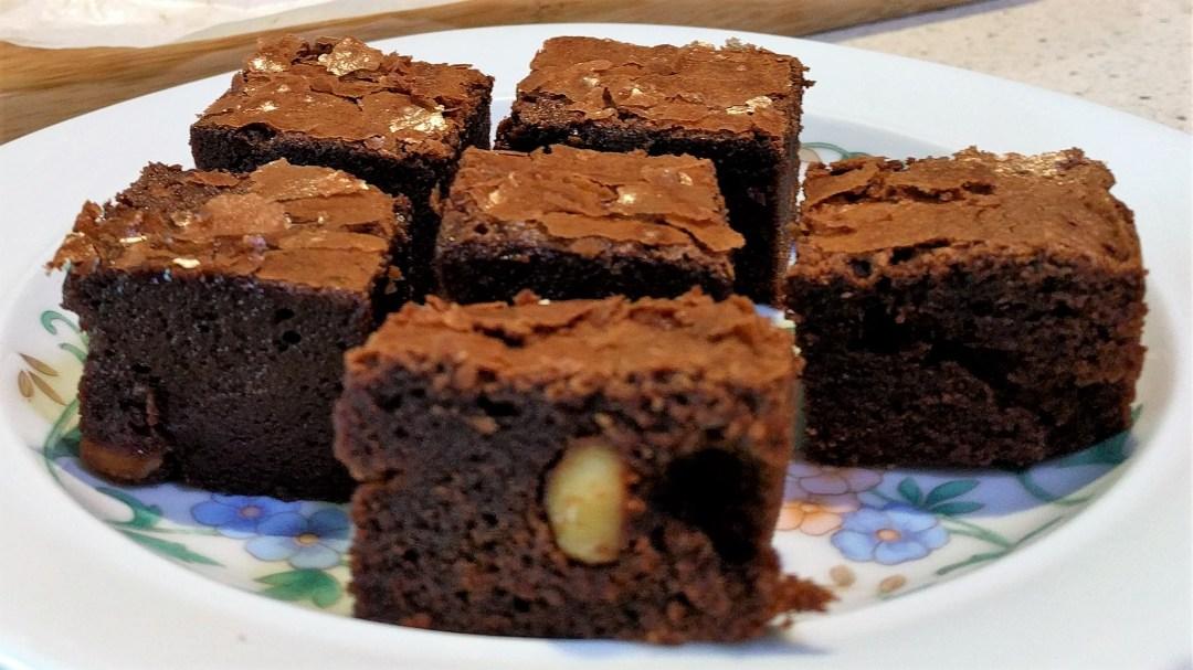 Chocolate Hazelnut Brownie